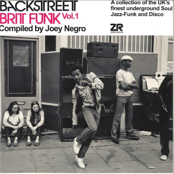 Joey Negro / Various Artists - Backstreet Brit Funk Vol. 1 (2LP reissue)