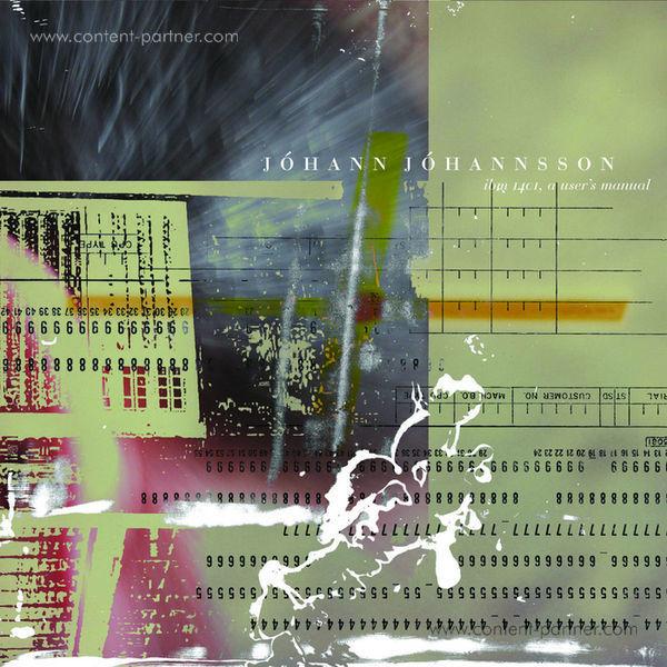 Johann Johannsson - IBM 1401 A User's Manual (2LP) [Clear vinyl]