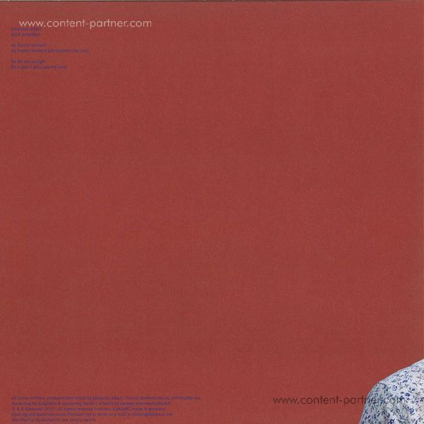 Johannes Albert - Palm Saturdays (Back)