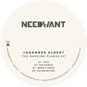 Johannes Albert - The Dancing Plague Ep