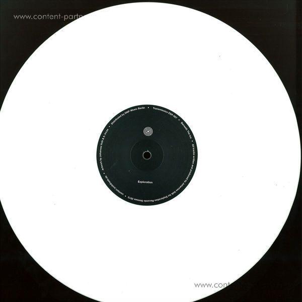 Johannes Volk - Beneath The Ice - VINYL ONLY (Back)