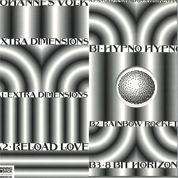 Johannes Volk - Extra Dimensions (Back)