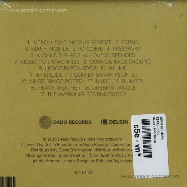 John Beltran - Espais (CD) (Back)