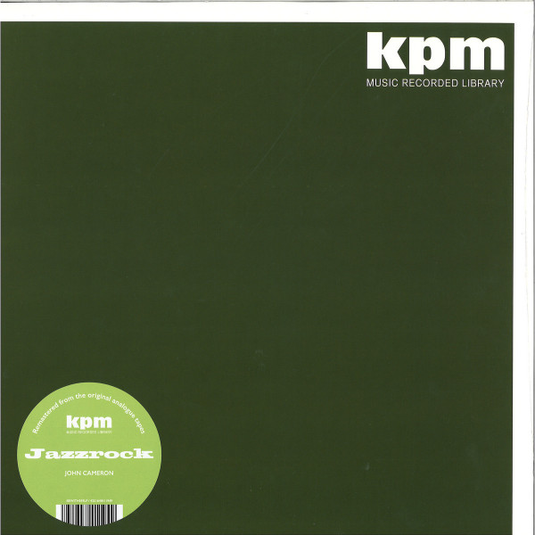 John Cameron - Jazzrock (KPM Reissue 2019, 180g)