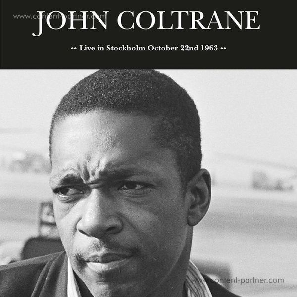 John Coltrane - Live In Stockholm Oct. 22nd 1963 (LP) [Clear, numb