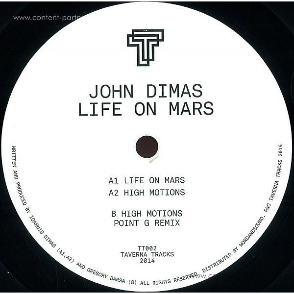 John Dimas - Life On Mars (Point G Remix)