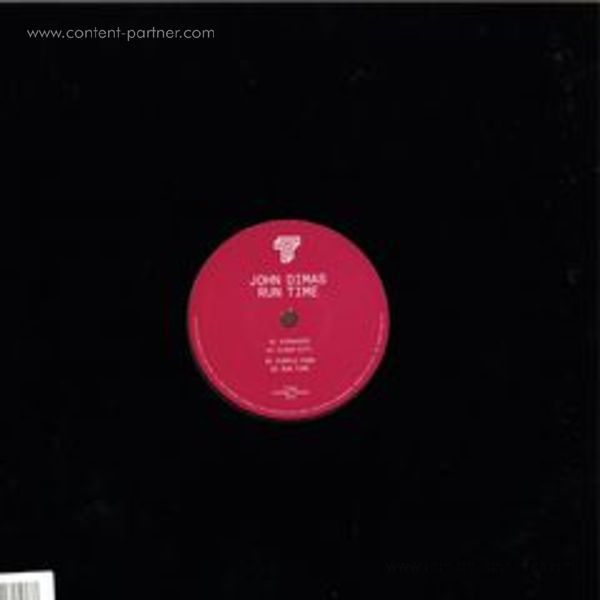 John Dimas - Run Timel (Vinyl Only) (Back)