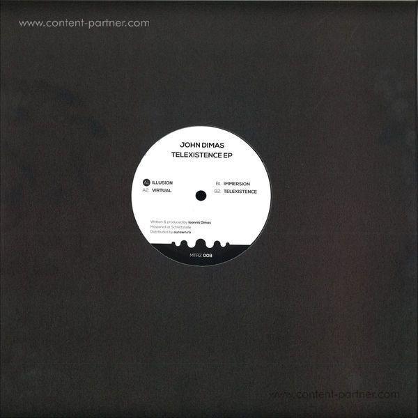 John Dimas - Telexistence EP (Back)