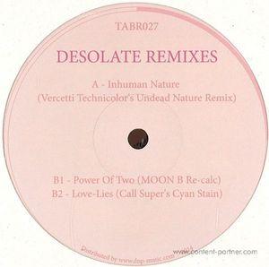 John Heckle, Vervetii, Moon B,Call Super - Desolate Remixes