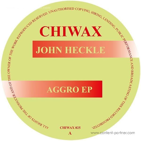 John Heckle - Aggro Ep