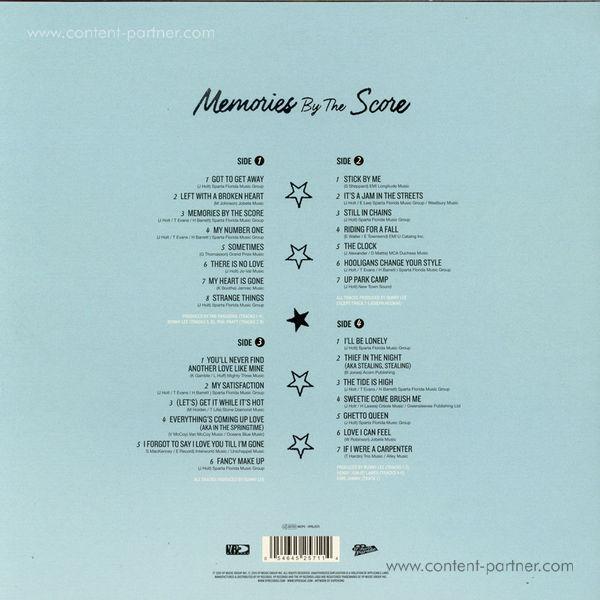 John Holt - Memories By The Score (2LP Gatefold Sleeve) (Back)