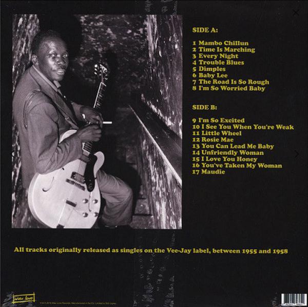 John Lee Hooker - Mambo Chillun: Vee-Jay Singles 1955-1958 (LP) (Back)