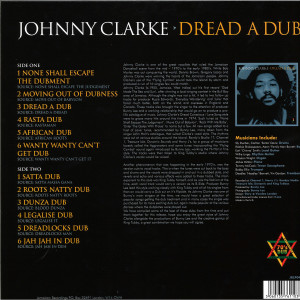 Johnny Clark - Dread A Dub (Back)
