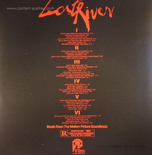 Johnny Jewel - Lost River (OST/3LP/Purple Vinyl!) (Back)