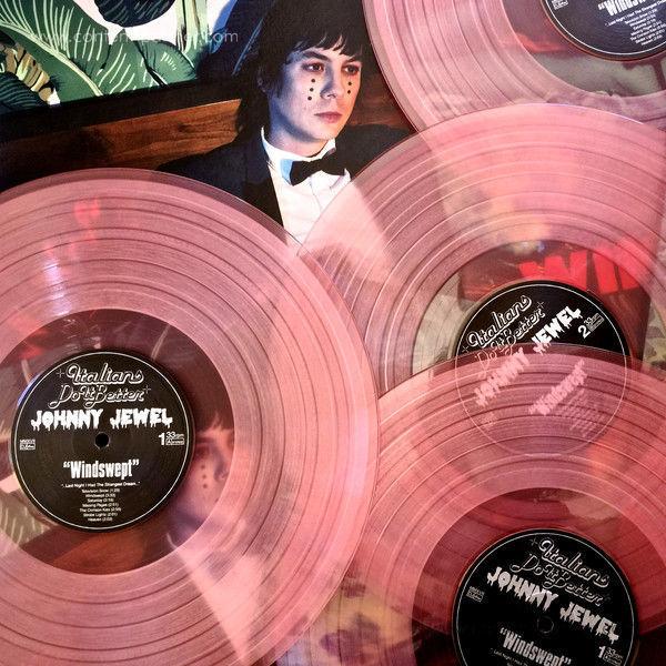 Johnny Jewel - Windswept (Ltd. Milk Coloured Vinyl 2LP) (Back)