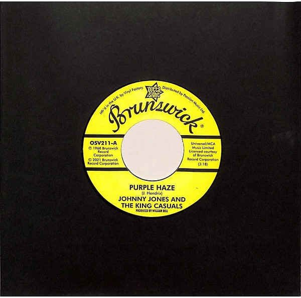 Johnny Jones/Gene Chandler - Purple Haze/There Was A Time