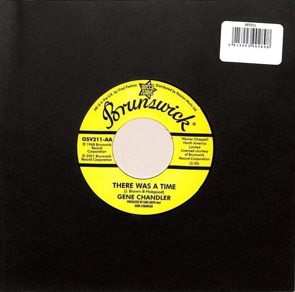 Johnny Jones/Gene Chandler - Purple Haze/There Was A Time (Back)