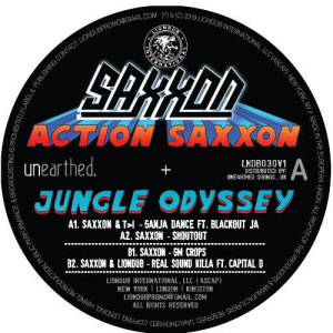 Johnny Osbourne - Action Saxxon - Jungle Odyssey EP