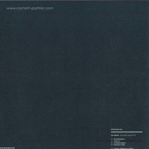 Jon Hester - Interstellar Systems EP (Back)