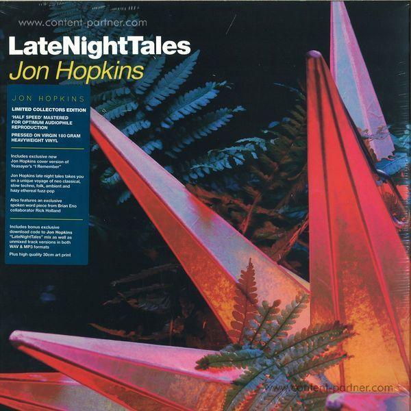 Jon Hopkins - Late Night Tales - V.A. (2LP + MP3)