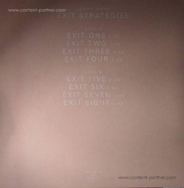 Jonny Nash - Exit Strategies (Back)