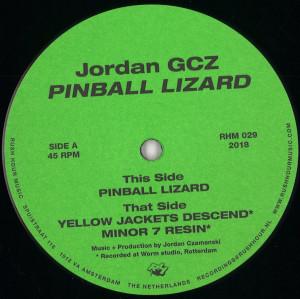 Jordan GCZ - Pinball Lizard EP