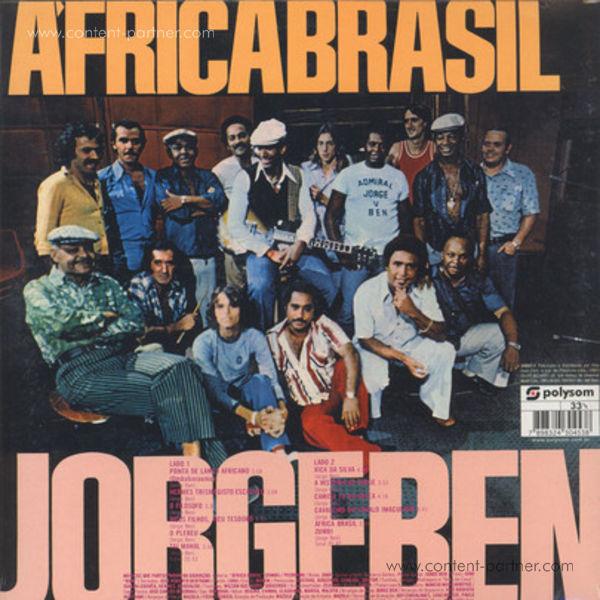 Jorge Ben - Africa Brasil (Repress!) (Back)