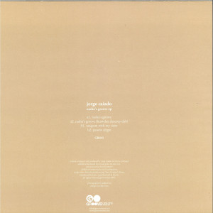 Jorge Caiado - Nasha's Groove EP (Brawther mix) (Back)
