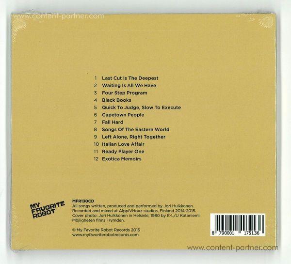 Jori Hulkkonen - Oh But I Am (CD) (Back)