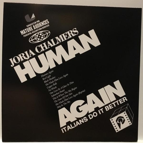 Jorja Chalmers - Human Again (LP) (Back)