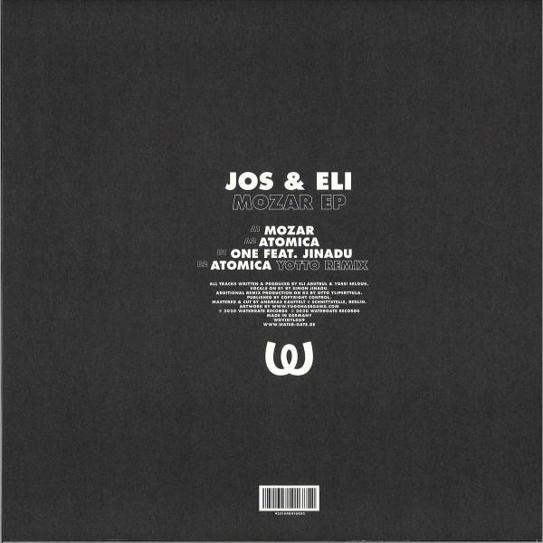 Jos & Eli - Mozar EP (w/Yotto Remix) (Back)