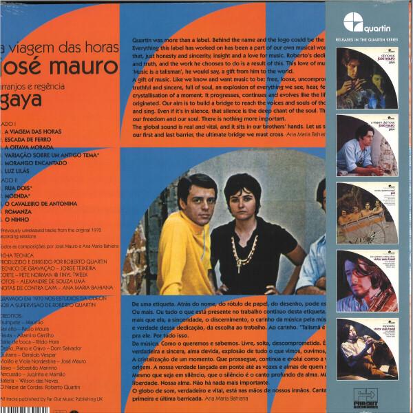 José Mauro - A Viagem Das Horas (Reissue) (Back)