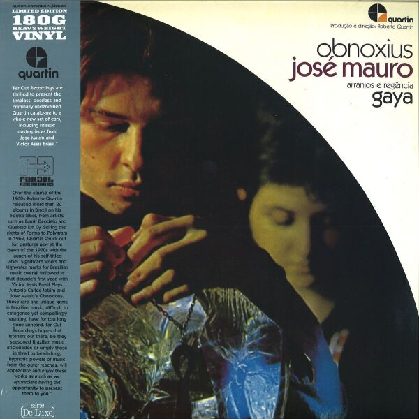 José Mauro - Obnoxius (180g LP with OBI-Strip)