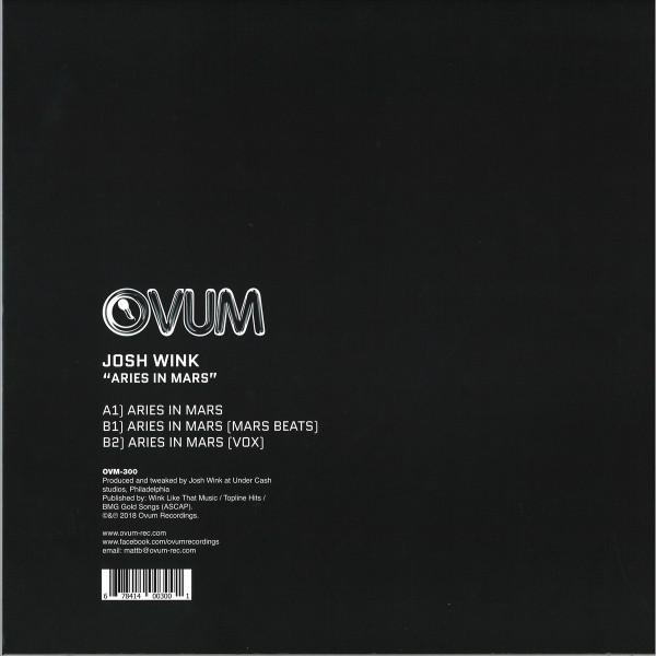 Josh Wink - Aries In Mars (Ovum 300!) (Back)