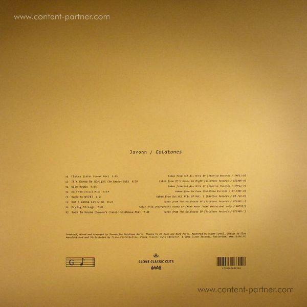 Jovonn - Goldtones (2LP) (Back)
