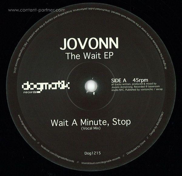Jovonn - The Wait EP