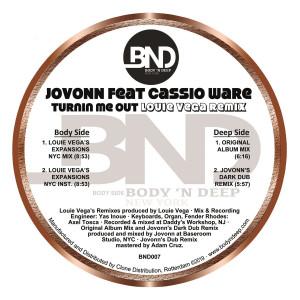 Jovonn - Turnin Me Out Feat. Casioware (inc. Louie Vega Rem