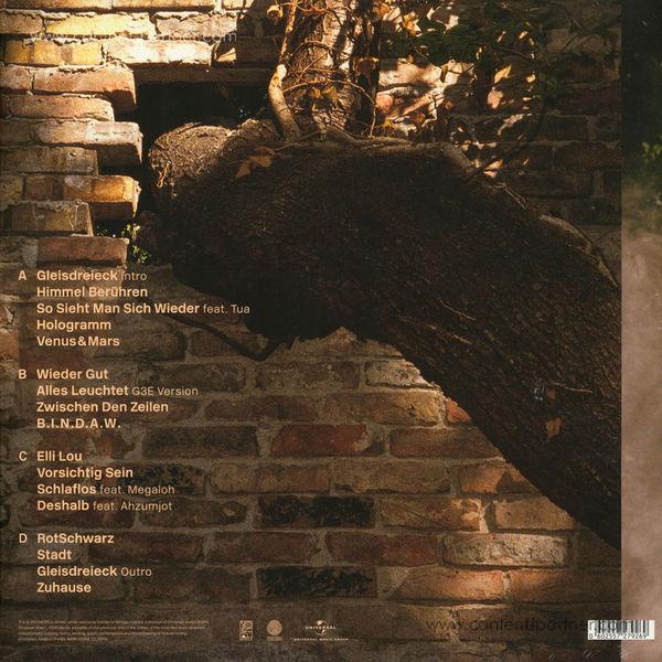 Joy Denalane - Gleisdreieck (2LP + MP3) (Back)