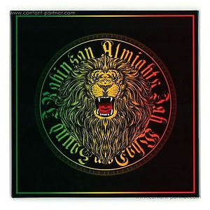J.robinson Whodemsound - Almighty Jah (Full Artw. Wrapped 7'')