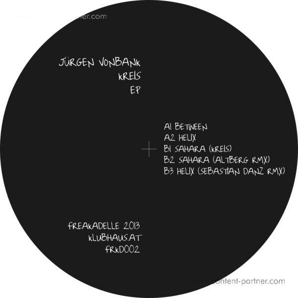 Juergen Vonbank & Kreis - Between EP, Sebastian Danz & Altberg Rmx (Back)