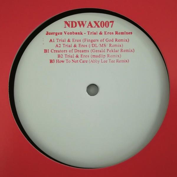 Juergen Vonbank - Trial & Eros Remixes (Back)