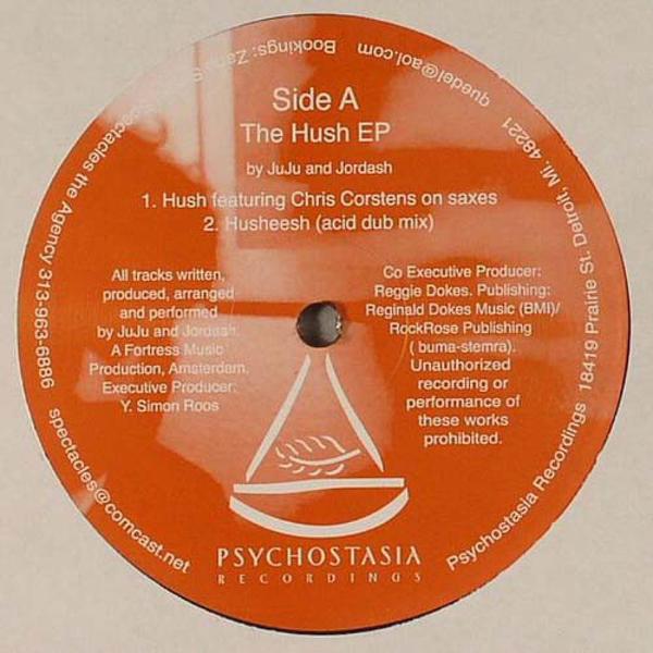 Juju & Jordash - The Hush EP