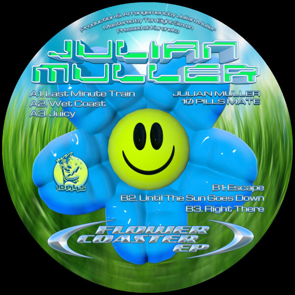 Julian Muller - Flower Coaster EP