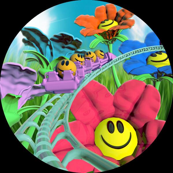 Julian Muller - Flower Coaster EP (Back)