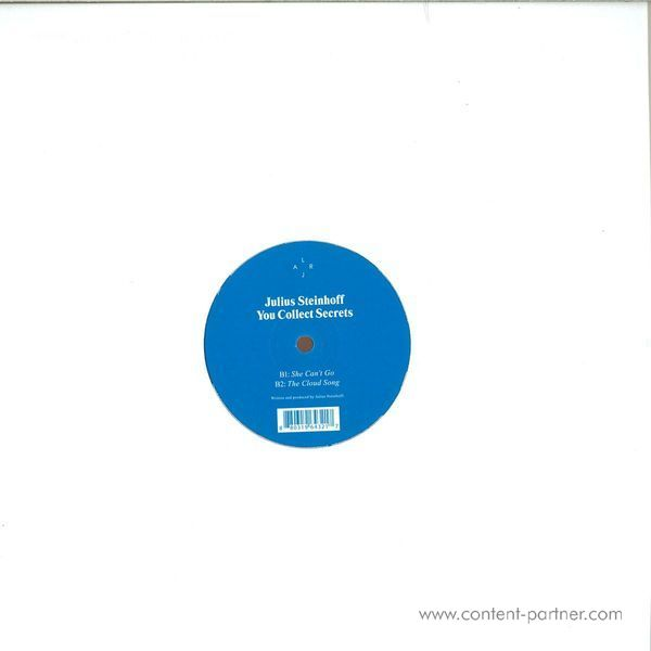 Julius Steinhoff - You Collect Secrets (Back)