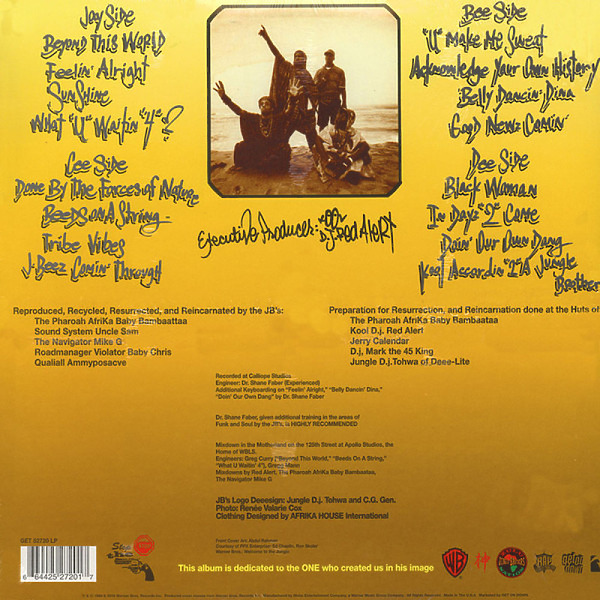 Jungle Brothers - Done By The Forces Of Nature (2LP) (Back)