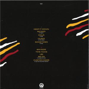 Jungle Brown - Full Circle (LP) (Back)