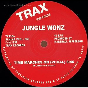 Jungle Wonz (Marshall Jefferson) - Time Marches On