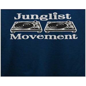 Junglist Movement - Men Tee (Blue / L)