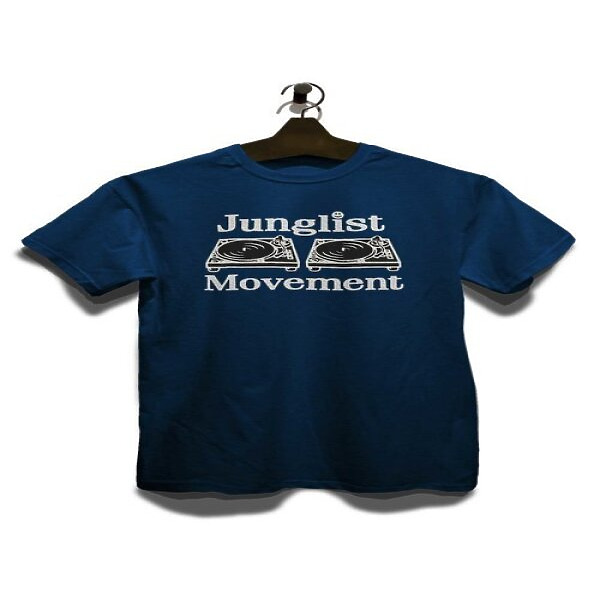 Junglist Movement - Men Tee (Blue / M) (Back)